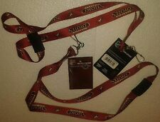 "LOT OF 4 PHOENIX COYOTES NHL 20"" Lanyard Key Chain by Wincraft NEW WITH TAGS"