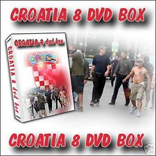 hooligans ULTRAS  8 MEGA DVD BOX CROATIA -NEW-NEW- !!!!