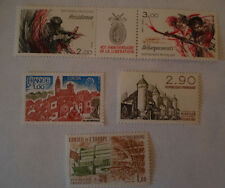 TIMBRES LOT 1977 1981 1982