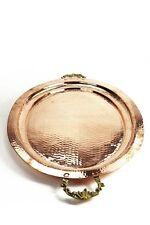 Serviertablett aus Kupfer ❀ 40 x 52 cm ❀ edles Tablett ❀ Kupfertablett