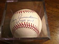 Bobby Richardson Autograph Baseball, NEW YORK YANKEES 2ND BASEMAN