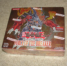 Yu-Gi-Oh Force of The Breaker 1st Ed Edition YuGiOh Cards New Sealed Booster Box