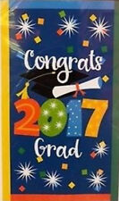 CLASS OF 2017 Scene Setter GRADUATION party wall/door decoration  CONGRATS GRAD
