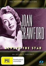 JOAN CRAWFORD Always The Star An Intimate Portrait DVD NEW Hollywood Collection