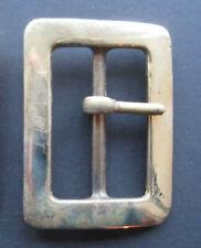 1 x Solid Brass Buckles 4 cm - Heavyweight Leathercraft Belts RRP £4.50 each!