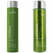 Hempz Couture VOLUMIZING SHAMPOO & CONDITIONER with Organic Hemp Seed Oil ~SET~