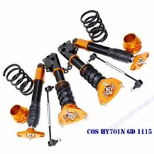 Gold Suspension Coilover Set for 2011-2015 Hyundai	Genesis Coupe 2-Door Model