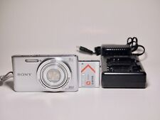 Sony CyberShot DSC-W830 20.1MP Digital Camera w 8x Carl Zeiss Zoom Lens, Charger