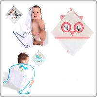 Boritar Cute Baby Bath Towel Baby Blanket Infant Hooded Wrap Bathrobe Animal