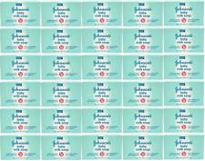 LOT OF 30 JOHNSON'S BABY MILK BAR SOAP, MILK PROTEINS VITAMINS E 3.5 OZ / 100 G