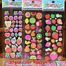 10 Sheet Bubble Stickers 3D Cartoon KIds ClassicToys Sticker School Reward Gift