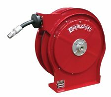 """Reelcraft 5435 OHP Hose Reel 1/4"""" x 35ft. 5000 psi for Grease Service with Hose"""