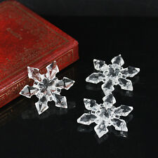 12pcs Snowflakes DIY Christmas Crystal Tree Hanging Celling/Window Decor Beauty