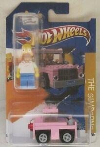 Hot Wheels CUSTOM HOMER SIMPSONS & LEGO CAR - Limited Edition 1/25 Made