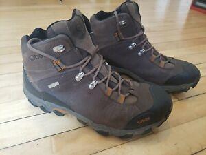 Oboz Men's Bridger Mid Waterproof Hiking Boots Size 11 US