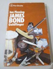 Ian Fleming JAMES BOND Goldfinger PAN pb 1973