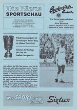 Programm | 1992-1993 | TSV 1860 München v Dynamo Dresden | DFB Pokal