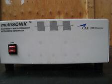 Multisonik CAE Ultrasonic Generator MSG-18T-208V-CLM w/ Master Control Unit