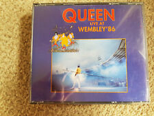Queen Live at Wembley Fatbox CD 1986! with Fast and free UK shipping
