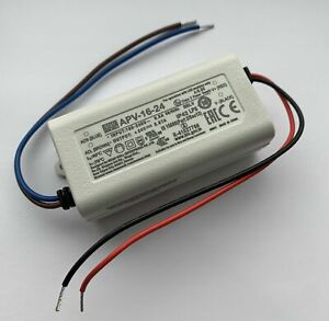 Mean Well APV-16-24 16W 24V Constant Voltage LED Driver