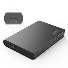 "ORICO 2.5"" Aluminium USB 3.0 Type C Hard Drive Enclosure Caddy for SATA HDD/SSD"
