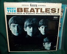MEET THE BEATLES HOLYW BERT #6  #4 VARIATION 1964 50 YEARS OLD ORIGINAL STEREO