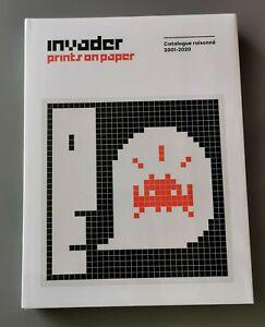 Invader Prints On Paper Catalogue Raisonné 2001/2020 - 1rst printing.