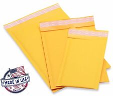 250 #00 5x10 Bubble Mailers Padded Envelopes Bags Usa Free Shipping #00