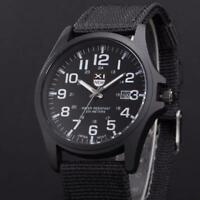 Outdoor Mens Date Stainless Steel Military Sports Analog Quartz Army Uhren Gift