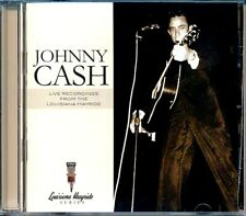 SEALED NEW CD Johnny Cash - Live Recordings From The Louisiana Hayride