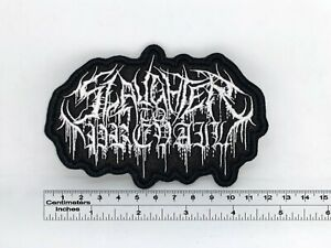 """Slaughter to Prevail band patch 12cm x 8cm / 4,72""""x3,15"""""""