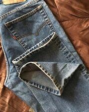 Superb Vintage USA Made Levi's 501's Denim Jeans. 30W x 32L. (C215)