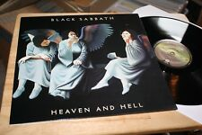 Black Sabbath - Heaven And Hell - Top Vertigo Hard Rock Vinyl Album Reissue LOOK