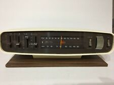 Vintage Mid Century Modern Zenith E441W AM/FM Stereo-WORKS GREAT-COLLECTIBLE