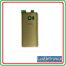 VETRO POSTERIORE RETRO BACK BATTERY COVER SCOCCA GLASS SAMSUNG S7 EDGE G935 GOLD