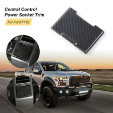 1X Electrical Power USB Outlet Socket Cover Trim For Ford F150 2015+ Accessories