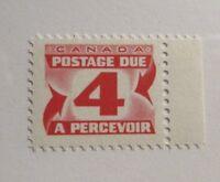 CANADA BOB #J31i ** MNH, Fine,  4¢ Postage Due