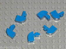 Blue Brick curved 6091 LEGO / set 9311 10151 5893 7848 8163 70404 6746 75087 ...