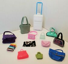 Barbie PURSES LOT #2 Accessories Clutch Crossbody Tote Saddle Bag Messenger Note