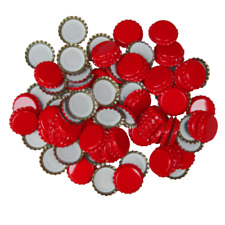 Young's Brew 50 Metal Crown Caps For Beer Making, Home Brew Consumables