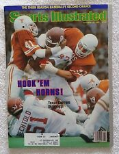 Sports Illustrated October 19, 1981; Hook 'Em Horns, Texas Corrals OK-RARE FIND!