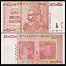Zimbabwe 50 Billion Dollars, 2008, P-87, Banknotes, UNC, 100 Trillion Series