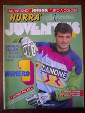 Hurrà Juventus n°10 1992 - Angelo Peruzzi Roberto Baggio   [C80]