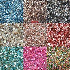 100g/set Glass DIY Mosaic Tiles Multicolour Crystal Translucent  Shell Fragments