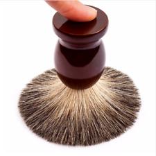 Mens Shaving Brush Badger Hair Wood Barber Facial Beard Care Grooming Salon