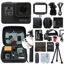 GoPro Hero 7 Negro 12 Mega píxeles cámara Videocámara 4K Impermeable + Kit 16GB Accesorios