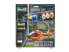 Maquette Dhélicoptère Revell 64986 Ec-135 air Glaciers 1 72