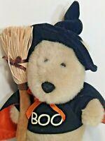 "Starbucks Bearista Boo Bear Plush Witch Costume Halloween Teddy 11th Edition 12"""