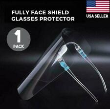 FACE SHIELD PROTECTION COVER GUARD WASHABLE REUSABLE GLASSES NON-MEDICAL