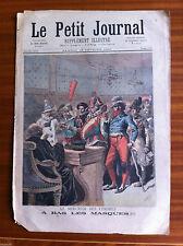 ?Le petit Journal 18/02/1893; Le mercredi des cendres, A bas les masques !!!